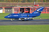 DSC_3081 - Dassault Falcon 20, G-FRAH, FR Aviation Ltd., Glasgow Prestwick Airport, 19th October 2016. (Martin Andrew Laycock) Tags: jointwarrior prestwickairport glasgowprestwickairport fraviation egpk dassaultfalcon20 gfrah