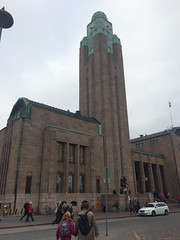 Central Railway Station, Helsinki, Finland (ReginaVoronaya) Tags: centralrailwaystation helsinki finland artdeco