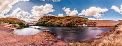 Be like a sun ray, that pierces through the dark clouds. (Richard Mart1n) Tags: landscape travel western australia clouds lake kununurra nikon d5000 awesome
