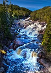 Riviere Du Sault Plat River, Northshore, St Lawrence, Cote Nord, Quebec, Canada (klauslang99) Tags: klauslang nature naturalworld northamerica canada riviere du sault plar river water waterfall st lawrence