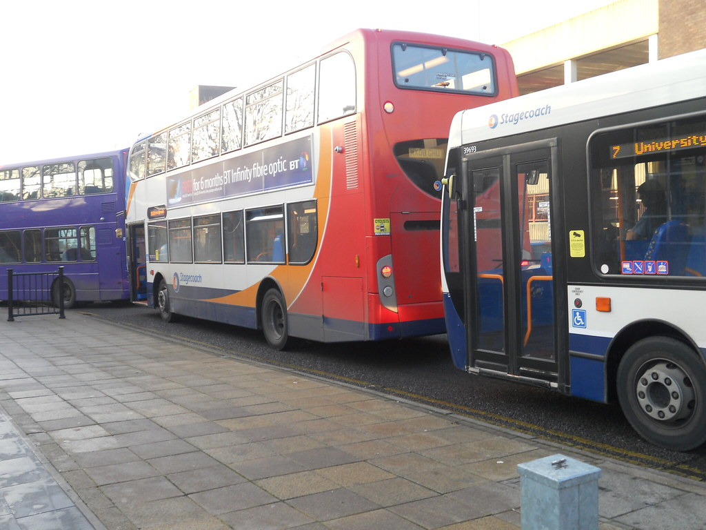 Northampton bus station pile-up (Alex S. Transport Photography) Tags: man