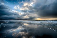 the beach today (robvanderwaal) Tags: sea sky cloud seascape reflection beach netherlands rain clouds strand golf skyscape shower waves nederland wolken wave zee lucht regen maasvlakte bui wolk 2014 reflectie golven maasvlakte2 rvdwaal robvanderwaalphotographycom