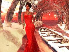 I Love My Christmas Gown (Jannah Kohnke) Tags: christmas xmas winter snow fashion season model dress supermodel avatar digitalart jewelry jewellery sl secondlife gown hautecouture couture digitalphotography elegance topmodel bestavatarsinsl bestavatarsofsl