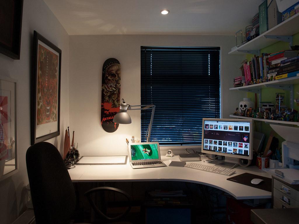 Home Office December 2014 (John Rainsford) Tags: Home Apple Book Design  Office Mac