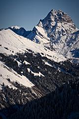 big stone (diamir8000) Tags: winter snow mountains canon landscape geotagged austria bluesky steep vorarlberg bregenzerwald widderstein schoppernau canoneos5dmark3 widdertsein
