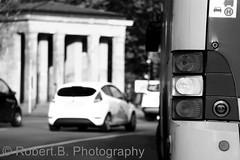 Berliner Bus (Robert Burisch) Tags: auto road street city light bus berlin cars car licht stadt auto