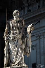 Altro papa (Jo Guarino) Tags: roma vaticano statua 2014 immacolata