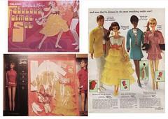 A MESSAGE TO SANTA (ModBarbieLover) Tags: 1969 sears formal ken barbie giftsets