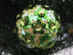 Hand Beaded Green Floral Christmas Bauble (raaen99) Tags: flower tree floral ball festive french shiny pin handmade decoration christmastree celebration gift christmasdecoration ribbon merrychristmas bauble matte christmasgift christmasball seasonsgreetings sequin christmasbauble christmastheme handbeaded christmasthemed handmadechristmasgift floralcup handsequined handmadechristmasbauble sequincoveredchristmasbauble sequincoveredchristmasball handmadechristmasball flowersequin christmas2014 floralsequin cupsequin floralcupsequin frenchsequin
