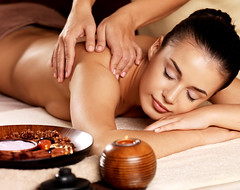 Woman having massage in the spa salon (tigercop2k3) Tags: woman girl beautiful beauty smile horizontal female relax one back healthy hands pretty candle adult body young relaxing lifestyle ukraine professional indoors health massage attractive salon meditation therapy care relaxation shoulder lowkey spa pleasure sapa wellness treatment caucasian beautician lyingdown masseur bodycare closedeye massaging pampering pamper spasalon womanspa