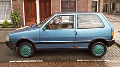 Fiat Uno 3-Door 1.5 75 SX i.e. (sjoerd.wijsman) Tags: auto blue holland cars netherlands car rotterdam blijdorp blauw fiat nederland thenetherlands voiture bleu uno vehicle holanda autos paysbas olanda hatchback fahrzeug niederlande zuidholland onk carspotting fiatuno bluecars carspot rotterdamblijdorp sidecode4 08122014 tn92rz