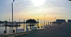 Marina (Lost in Flickrama) Tags: ocean houses winter sunrise boats harbor pier newjersey atlantic littleeggharbor
