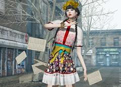 Dead Dollz - Viva La Frida! (Rehana MissSLVietnam,MissChopZuey2015/MVHK13) Tags: fashion tram event secondlife swallow rehana moncheri slink posesion deaddollz chopzuey