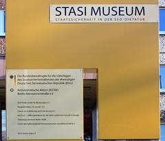Stasi Museum (Berlin) (fotoeins) Tags: travel berlin canon germany deutschland europa europe hauptstadt ddr gdr lichtenberg mfs stasi xsi eastgermany stasimuseum eos450d henrylee 450d bstu fotoeins myrtw canonefs1855mmf3556isii henrylflee fotoeinscom
