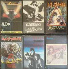 Compact Cassette Musicassette Selection - ZZ Top / Scorpions / Def Leppard / Iron Maiden / Montrose (firehouse.ie) Tags: music love rock metal loving four still iron track you top 4 first number tape scorpions rockmusic beast montrose ronnie sight sammy heavy cassette tapes hagar maiden cassettes def compact zz classicrock hysteria eliminator leppard heavyrock musicassette tapetapes musicassettes