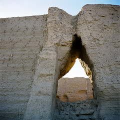 Remaining Through Thousand Years (The Lost Egyptian Mau) Tags: travel film  dunhuang   fujipro160 worldculturalheritage  seagull4a   yumenpass 4a