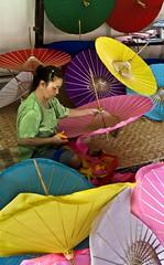 (Fulvio Chiacchiera) Tags: umbrella thailand tailandia ricepaper ombrelli cartadiriso