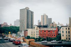 Urban Jungles (corran105) Tags: city newyorkcity urban newyork america vintage haze nikon cityscape decay manhattan foggy rusty overcast retro faded grainy urbanfragments d90 brookylnbridge nikond90 vsco vscofilm