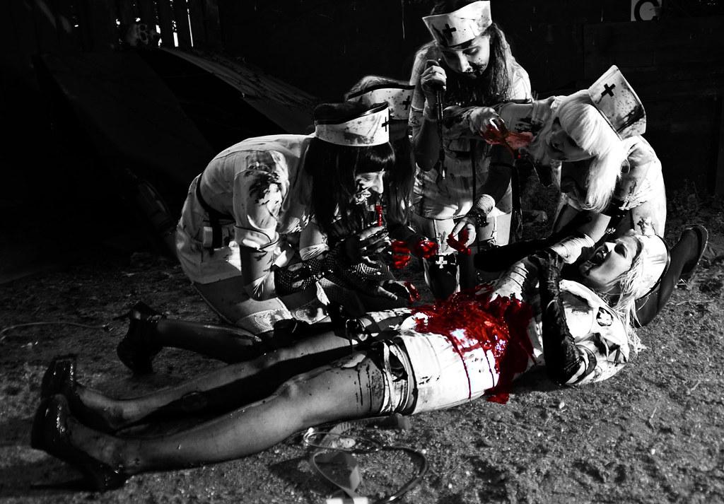 zombie women in pantyhose