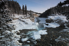 Elbow falls January 2015 (davebloggs007) Tags: canada kananaskis country january falls alberta elbow 2015