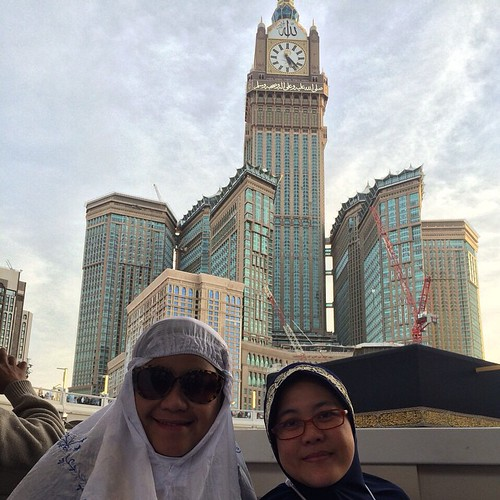 #holykabah #kabah #mecca #masjid al #haram #afternoon #zamzamtower #clock #ashr #umrah #sister #today