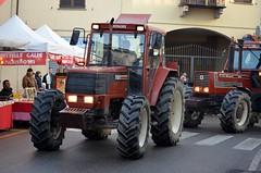 FIATAGRI F100 (Bruno Vigan) Tags: italia fiat f100 campagna primo di tractors festa trattore pavia paese contry countryscape fiatagri trattori casorate