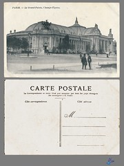 PARIS - Le Grand-Palais, Champs-Elysees (bDom) Tags: paris 1900 oldpostcard cartepostale bdom