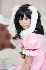P55_022 (ms09Dom) Tags: cosplay コスプレ 東方project 因幡てゐ 五木あきら itsukiakira