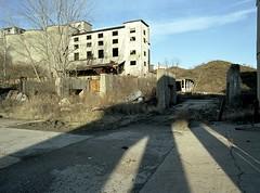 (Matt Allouf) Tags: abandoned 120 film 645 midwest kodak stlouis bronica missouri medium format portra 160 etrsi epsonv500 cementland