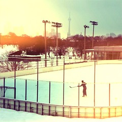 (@jnathanson) Tags: winter toronto ice hockey christiepits ottofilm hipstamatic chunkylens oggl