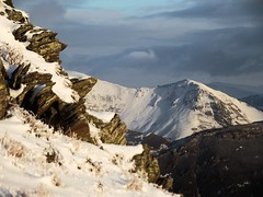 Whiteside Pike (wasdale60) Tags: uk winter england snow mountains tourism ice rock climb walk lakedistrict cumbria fells buttermere loweswater crag westcumbria blakefell uksnow whitesidepike carlingknot