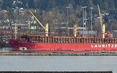 Export Wisdom (drmack2) Tags: industry forest log raw bc jobs cargo fraserriver freight bulk penstock