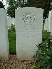 Name: THOMSON, WILLIAM Rank: Private Service No: 3858. Date of Death: 15/11/1916. Age: 19. Regiment/Service: Gordon Highlanders 1st/5th Bn.
