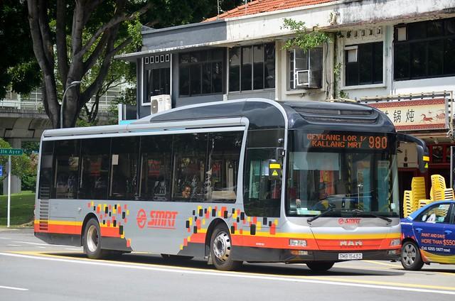 SMRT Buses MAN NL323F (A22)