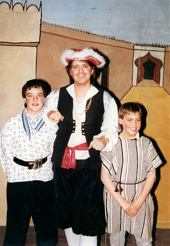 1992 Ali Baba 09 (from left Mark Fielding, Ian Booth,Richard Young jnr)