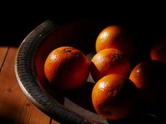 some oranges in a bowl (tobsest) Tags: shadow art fruits fruit four lumix some sigma bowl panasonic g5 micro oranges 60mm schatten schssel thirds frchte einer orangen dmcg5