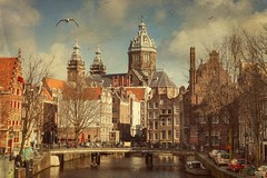 Amsterdam (siebe ) Tags: holland texture netherlands dutch amsterdam canal scenery nederland thenetherlands scene gracht 2015