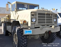 (1983)  Truck, Cargo, 5 Ton, 6X6, M923, Without Winch (Digital Vigilante) Tags: 1983 2015 5tontruck amgeneral militarytruck m923