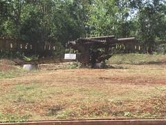 Leftover Artillery in Khe San Vietnam