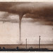Cabinet card of a water spout