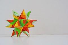 Olympia Kusudama (Byriah Loper) (Byriah Loper) Tags: paper origami paperfolding polyhedron modularorigami kusudama byriahloper