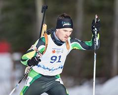 Biathlon2015_02_17 (91) (Don Voaklander) Tags: woman snow man ski male men female race women gun lap target poles skis princegeorge otway 2015canadawintergames voaklander donvoaklander