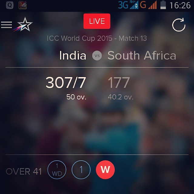 Finally India beat South Africa by 130 runs.. Celebrating victory against South Africa. LoL for South African Team.. Mouka mouka. mouka mouka. LoL #cricket #iccworldcup #IndvsSA #india #won