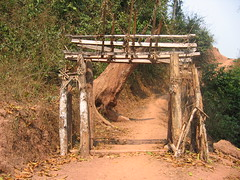 Akha Spirit Gate Laos