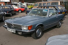 1975 Mercedes-Benz 450SL (davocano) Tags: auction brooklands r107 carauction classiccarauction historicsatbrooklands jyt479n