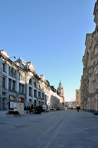 Никольская улица / Nikolskaya street ©  ruscow