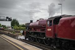 45699 - 1Z67 - Basingstoke - 09.07.2016(2) (Tom Watson 70013) Tags: 45699 galatea 1z67 end southern steam lms london weymouth railway basingstoke jubilee 5699