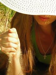 Natalya Hrebionka (Natali Antonovich) Tags: portrait hat seaside lifestyle romantic relaxation seashore seasideresort romanticism belgiancoast wenduine seaboard natalyahrebionka