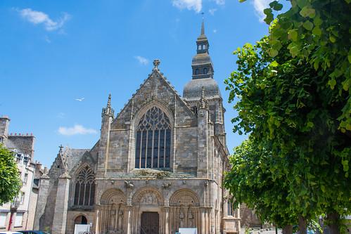 Basilique Saint-Sauveur à Dinan