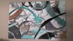 Roll plate fly (Hilary Teft) Tags: abstract kids painting